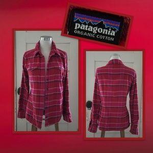 Patagonia Organic Cotton Flannel Shirt
